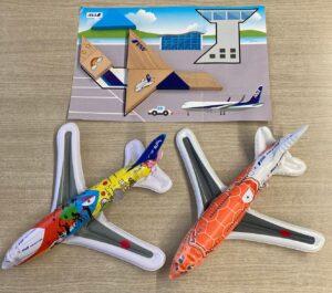 ANA飛行機でもらえるおもちゃ
