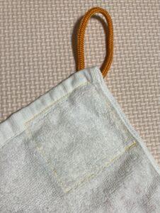 手作りのループタオル