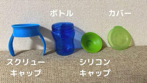 WOWカップのパーツ